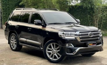 Sell Black 2020 Toyota Land Cruiser in Quezon City
