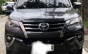 Grey Toyota Fortuner 2018 for sale in Quezon City