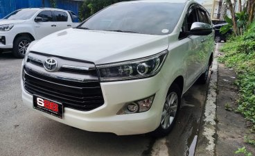 Sell White 2018 Toyota Innova in Quezon City