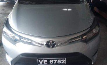 Brightsilver Toyota Vios 2016 for sale in Quezon