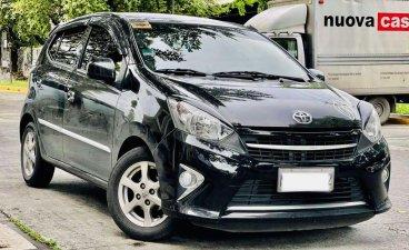 Black Toyota Wigo 2017 for sale in Automatic