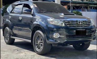 Blue Toyota Fortuner 2015 for sale in Automatic