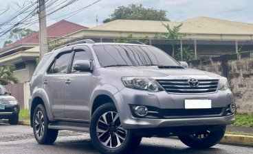 Grey Toyota Fortuner 2016 for sale in Makati