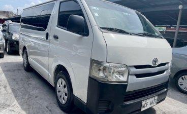 Sell White 2016 Toyota Hiace in Las Piñas