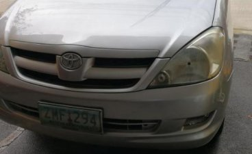 Sell Silver 2008 Toyota Innova in Pasig