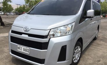 Sell Silver 2020 Toyota Hiace in Lucena