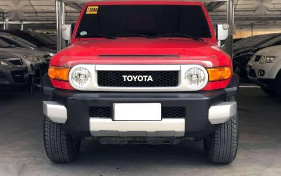 2015 FJ Cruiser 40 4x4 GAS Automatic 30k ODO 1st Owner CASA LIKE NEW-1