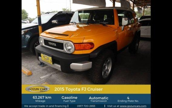 2015 Toyota FJ Cruiser 4.0L AT Gasoline