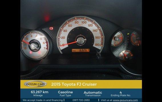 2015 Toyota FJ Cruiser 4.0L AT Gasoline-4