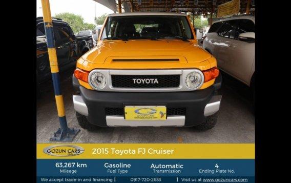 2015 Toyota FJ Cruiser 4.0L AT Gasoline-1