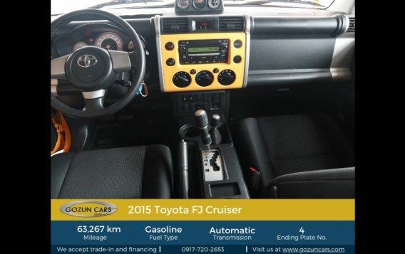 2015 Toyota FJ Cruiser 4.0L AT Gasoline-2