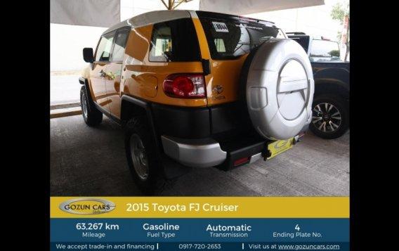 2015 Toyota FJ Cruiser 4.0L AT Gasoline-3