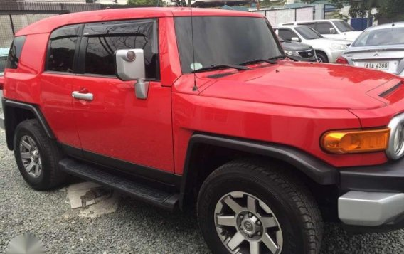 2015 Toyota FJ Cruiser 4x4 1st Owned Automatic Transmission-2