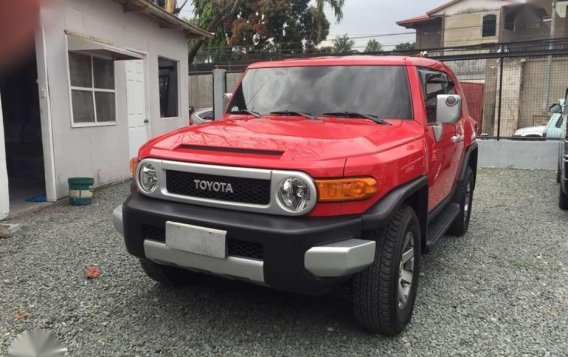 2015 Toyota FJ Cruiser 4x4 1st Owned Automatic Transmission