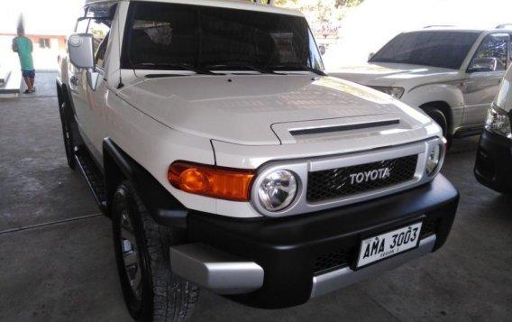 Toyota Fj Cruiser 2015 Automatic Gasoline for sale in Mexico