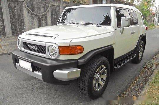 Selling Toyota Fj Cruiser 2015 Automatic Gasoline-1