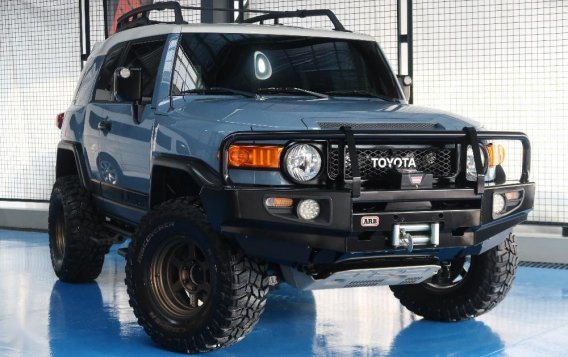 Sell Used 2015 Toyota Fj Cruiser at 45000 km in Quezon City