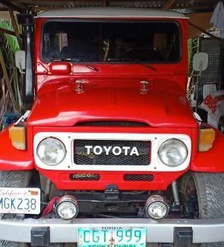 Selling Toyota Land Cruiser 1980 Manual Diesel in Malolos-4
