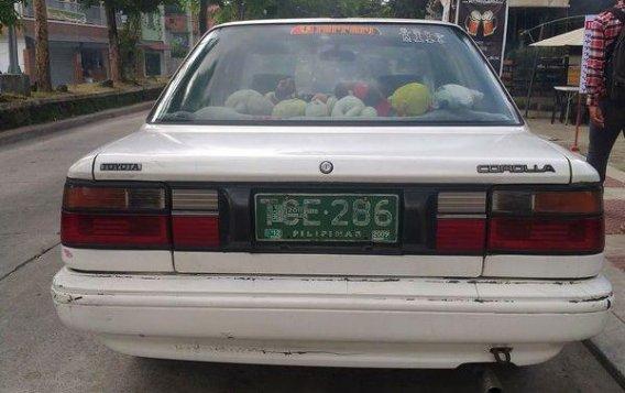 1991 Toyota Corolla Sedan Manual for sale -3