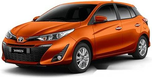 2019 Toyota Yaris for sale in Legazpi -3