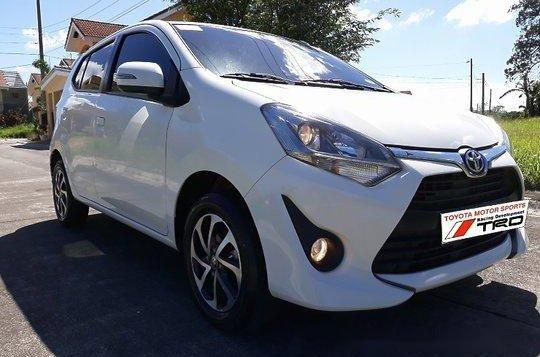 sell white 2018 toyota wigo at 14274 km
