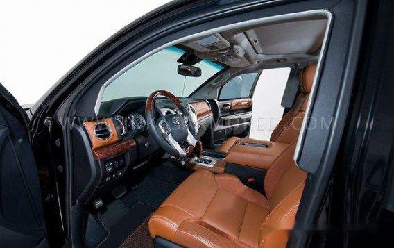 Black Toyota Tundra 2019 Automatic Gasoline for sale-1