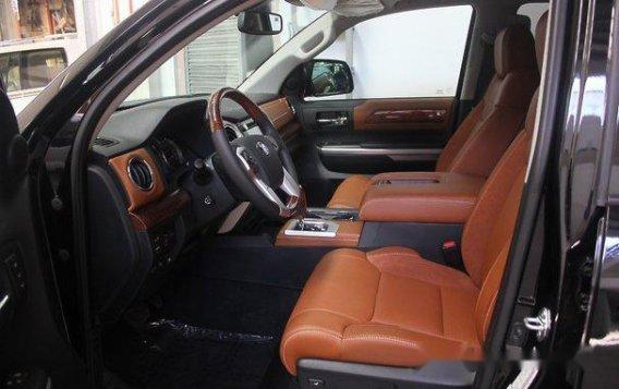 Black Toyota Tundra 2019 Automatic Gasoline for sale-8