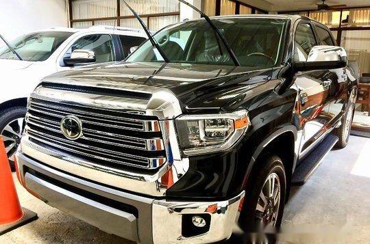 Black Toyota Tundra 2019 Automatic Gasoline for sale-3