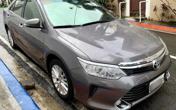Grey Toyota Camry 2016 for sale in Taguig-1