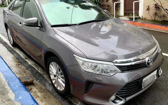 Grey Toyota Camry 2016 for sale in Manila-1
