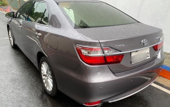 Grey Toyota Camry 2016 for sale in Manila-2