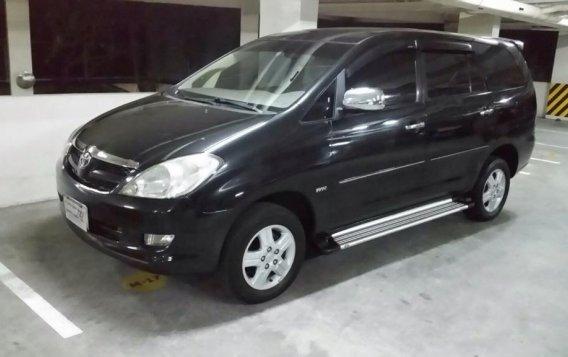 Black Toyota Innova 2006 for sale in Manila-1