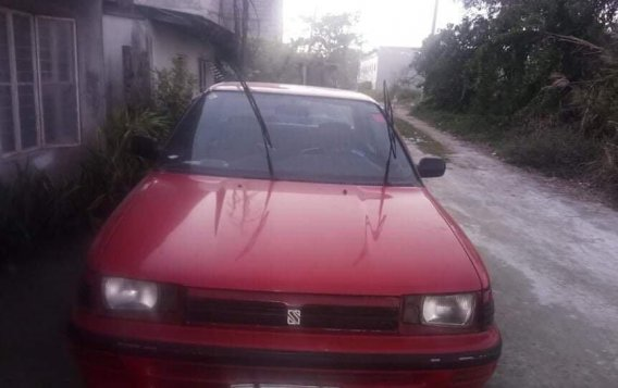 Red Toyota Corolla 1991 for sale in Bacolor-1
