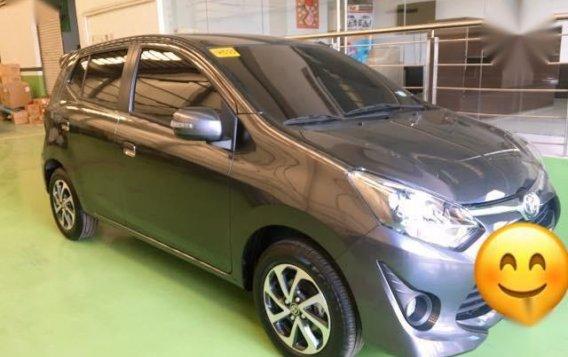 Selling Grey Toyota Wigo 2018 in Manila