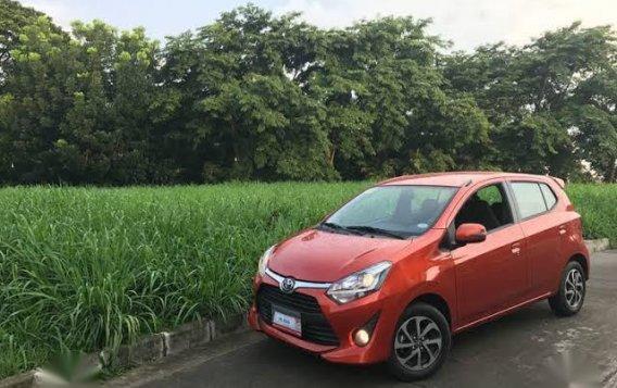 Selling Orange Toyota Wigo 2018 in Quezon City-1