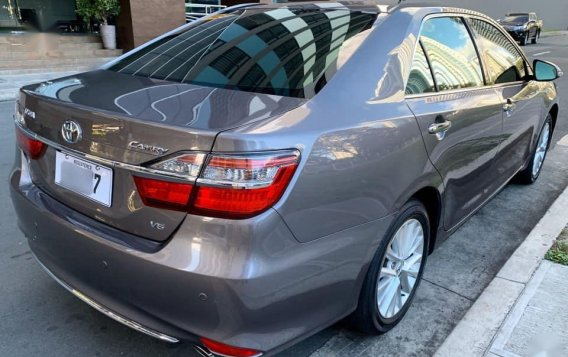 Gray Toyota Camry 2016 for sale in Paranaque City-2
