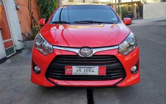 Selling Red Toyota Wigo 2018 Hatchback in Manila