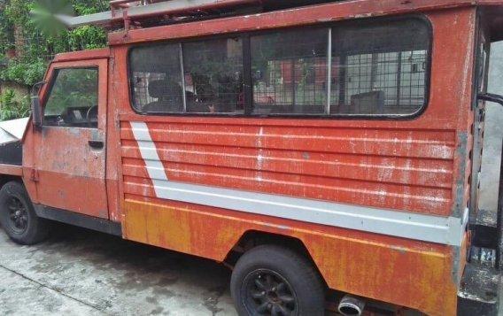 Orange Toyota Tamaraw 1997 for sale in Quezon City