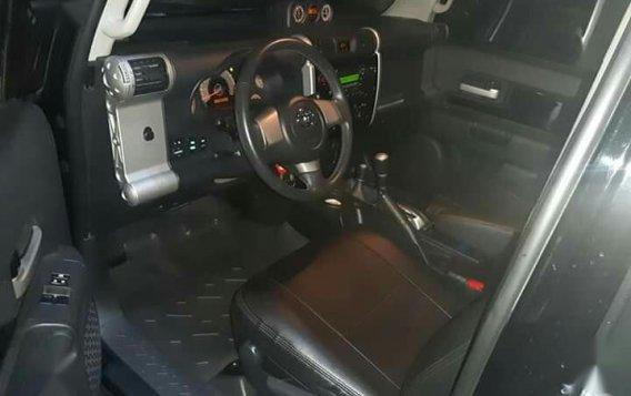 Black Toyota Fj Cruiser 2015 for sale in Marilao-4