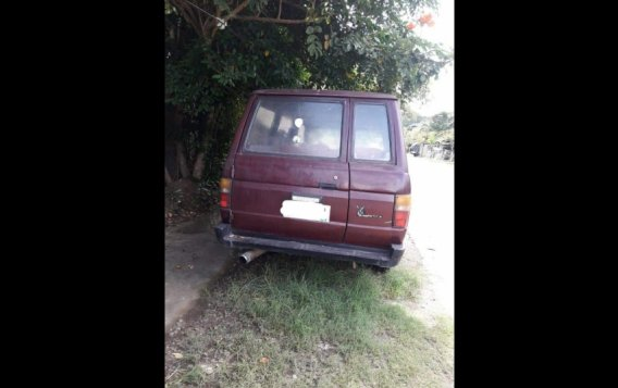 Red Toyota Tamaraw 1995 for sale in Tangub-2