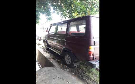 Red Toyota Tamaraw 1995 for sale in Tangub-1