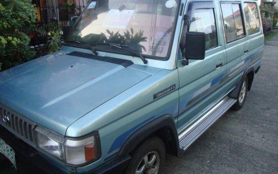 Selling Green Toyota Tamaraw 1997 in Kalibo