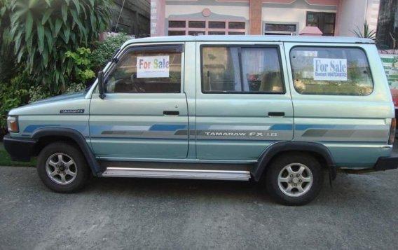 Selling Green Toyota Tamaraw 1997 in Kalibo-6