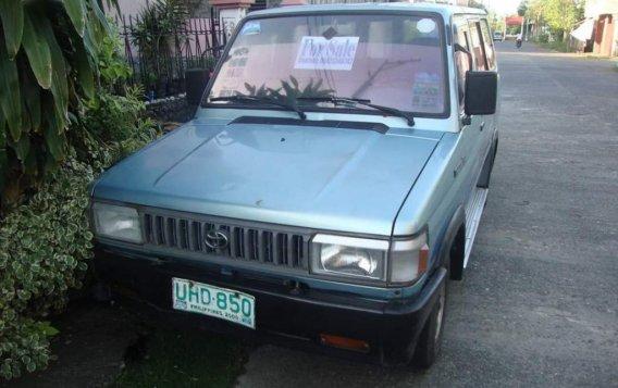 Selling Green Toyota Tamaraw 1997 in Kalibo-5