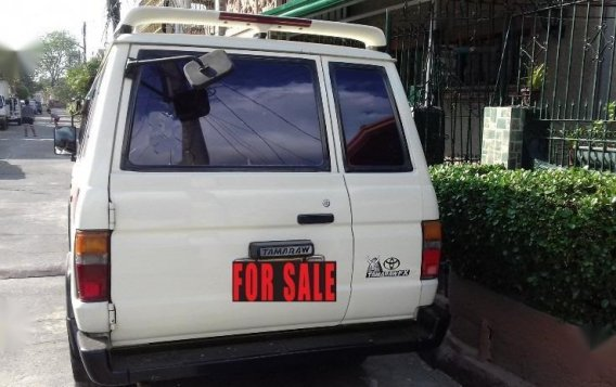 White Toyota tamaraw for sale in Rodriguez-1