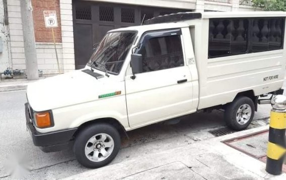 Selling White Toyota tamaraw for sale in Manila-1