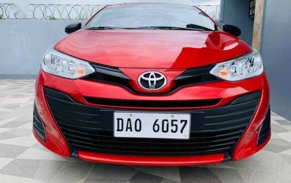 Red Toyota Vios 2020 for sale in Santiago-5