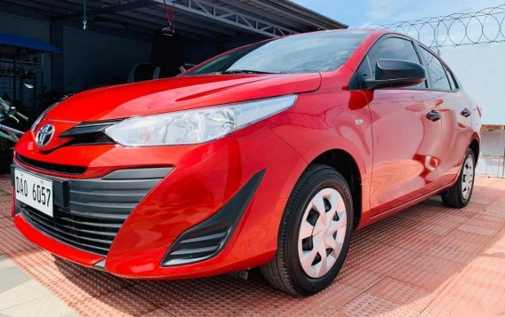 Red Toyota Vios 2020 for sale in Santiago-1