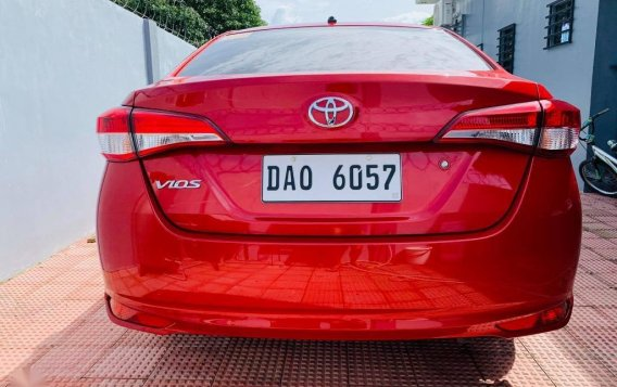Red Toyota Vios 2020 for sale in Santiago-2