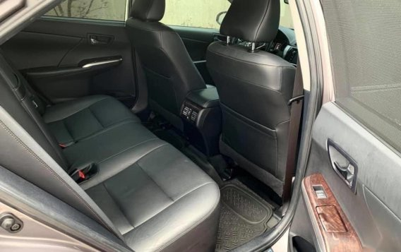Grey Toyota Camry 2016 for sale in Manila-7